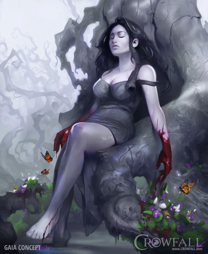 Crowfall Goddess Gaia Gaea