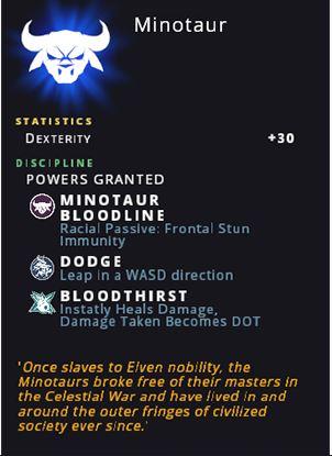 Crowfall Runestone Minotaur