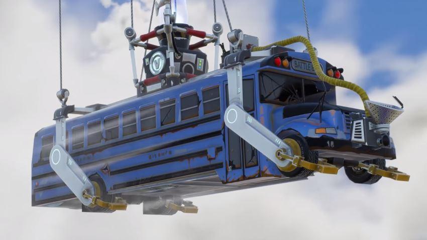 Fortnite Battle Royale Bus