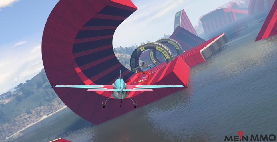 GTA 5 Online Verwandlungsrennen Flugzeug