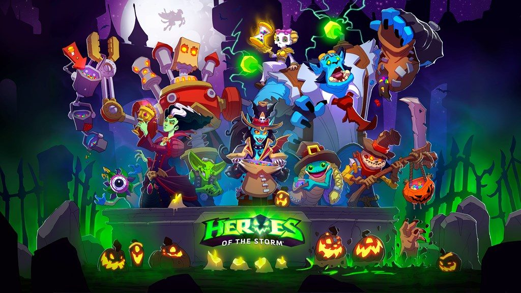 Heroes of the Storm Hallows End Loading Screen