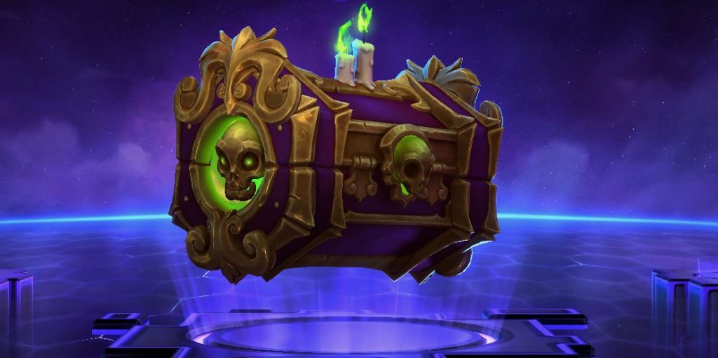 Heroes of the Storm Hallows End Lootbox