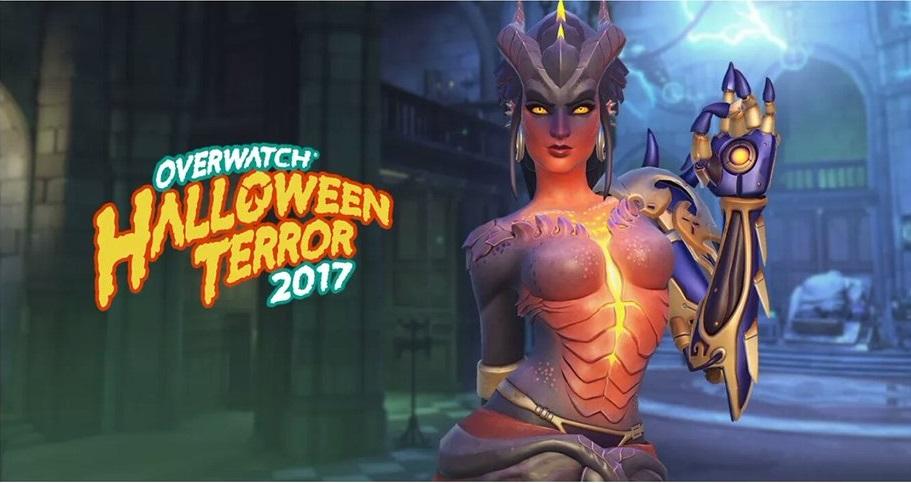 Overwatch Halloween Diablo Symmetra