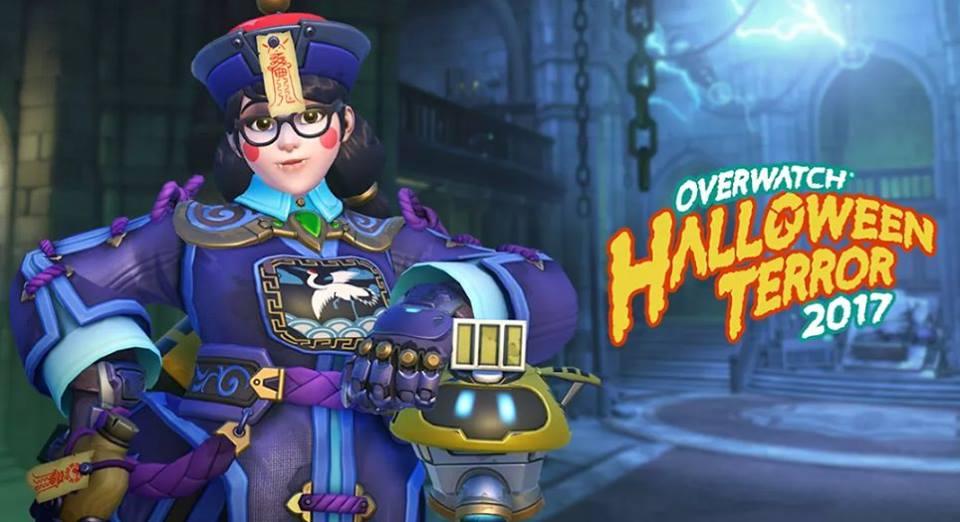 Overwatch Halloween Jang Shi Mei