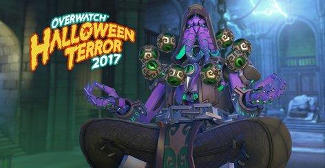 Overwatch Halloween Zenyatta Cthulhu