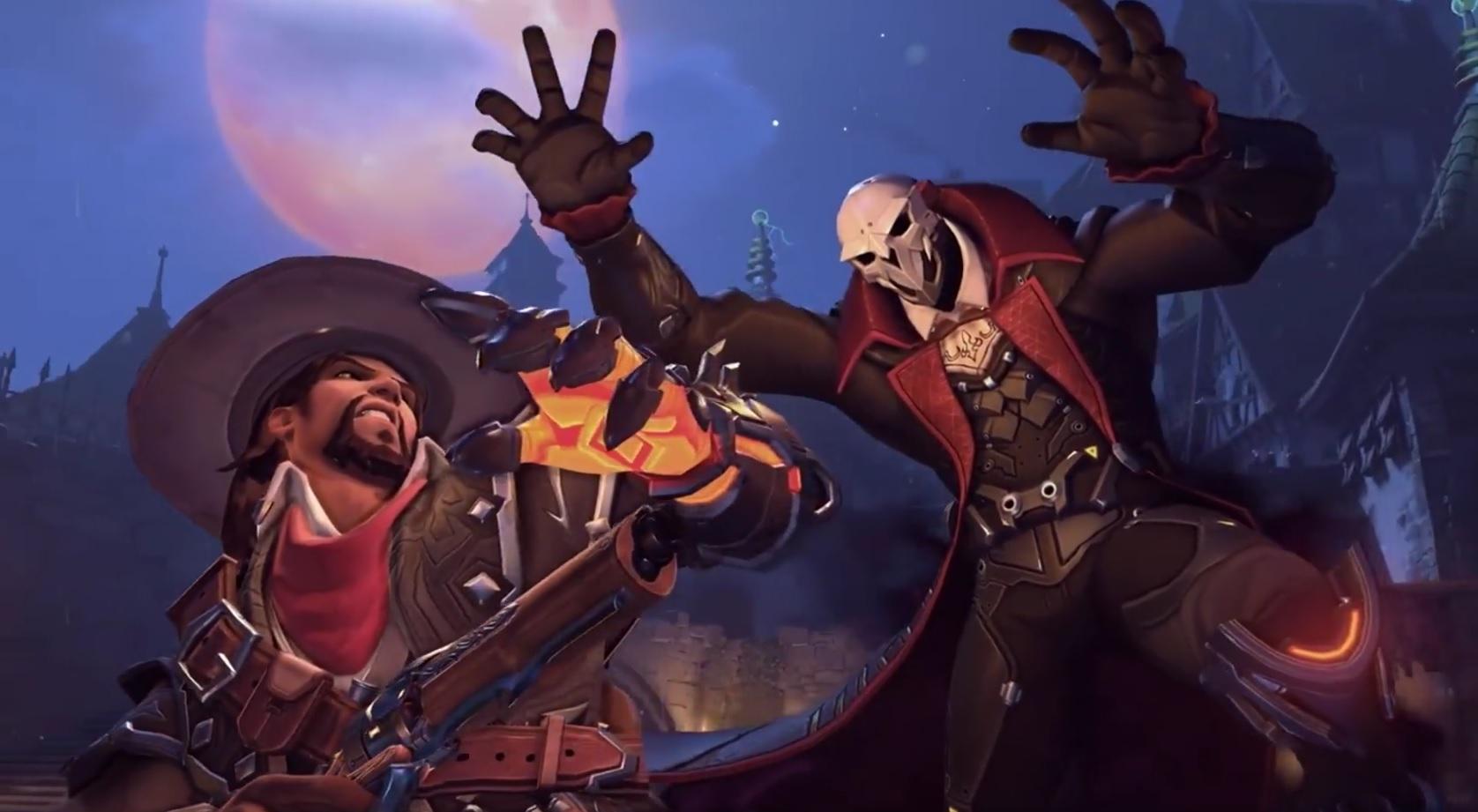 Overwatch Skins Halloween McCree Reaper