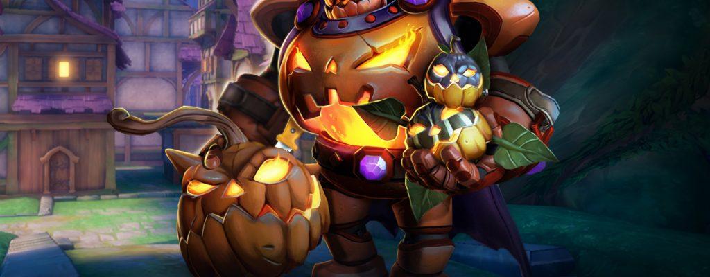 Paladins: Update 1.36 bringt Halloween mit Grusel-Skins auf PS4 & Xbox