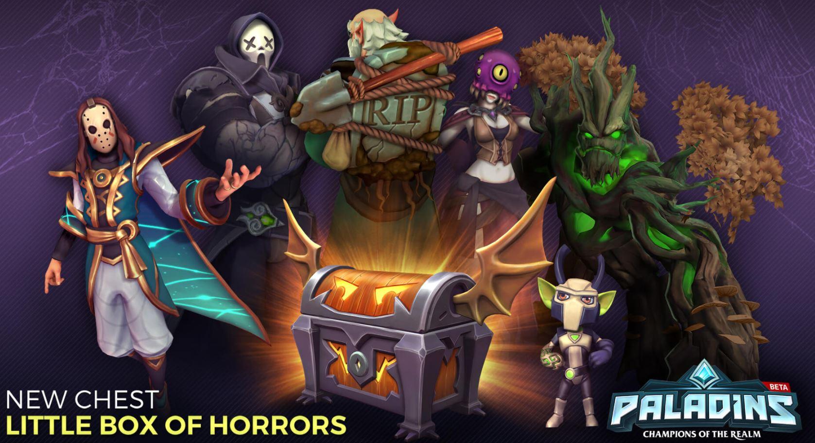 Paladins Halloween Kiste