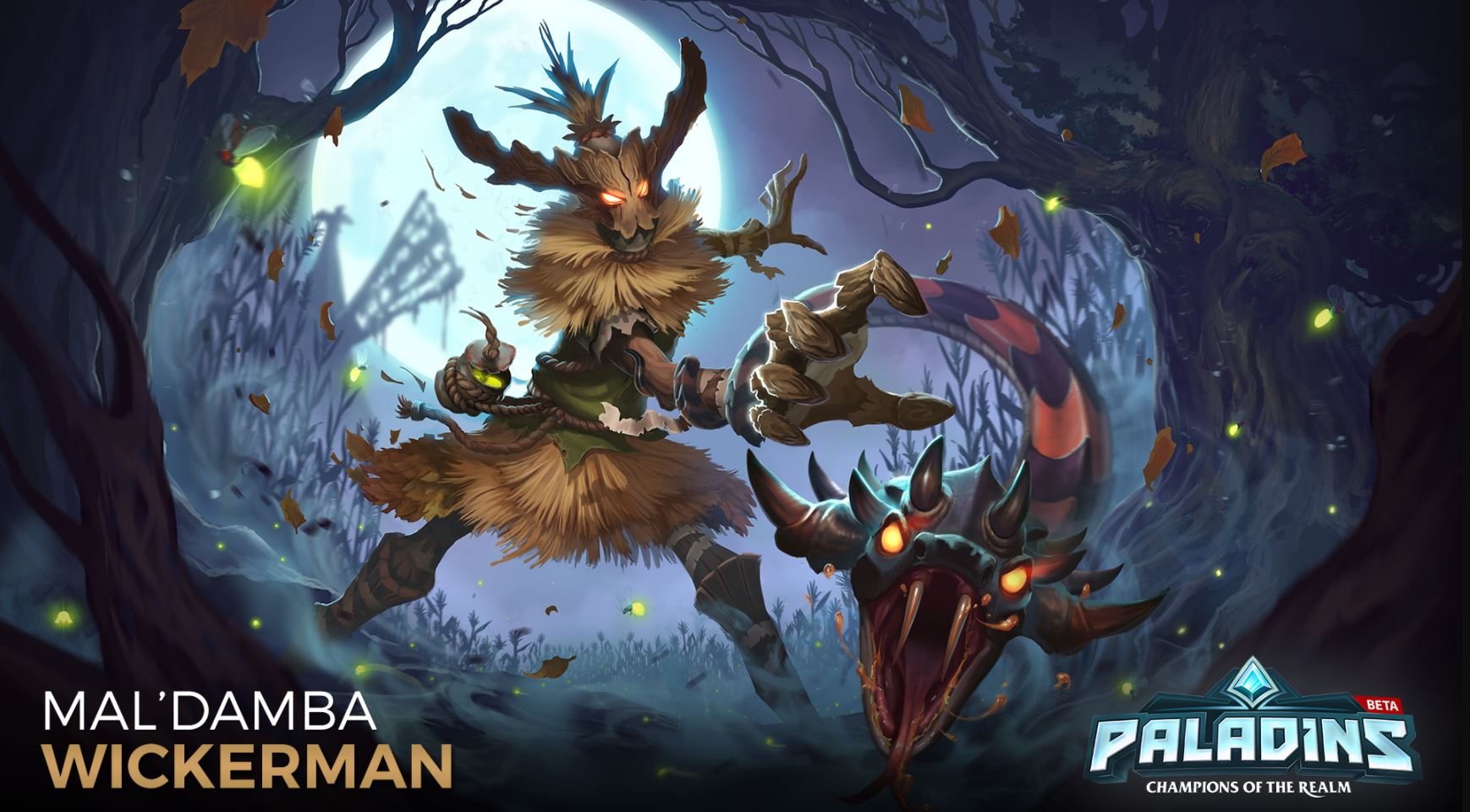 Paladins MalDamba Wickerman