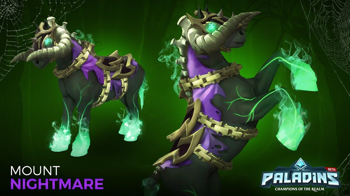 Paladins Mount Nightmare