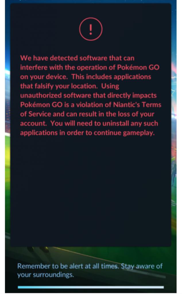 Pokémon GO Anti-Spoofing
