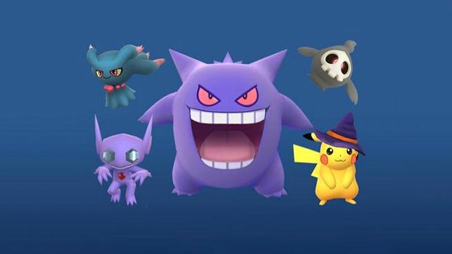Pokémon GO Halloween Pikachu