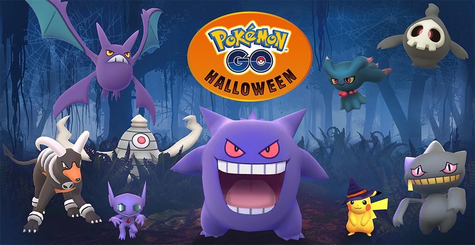 Pokémon GO Halloween offiziell Titel
