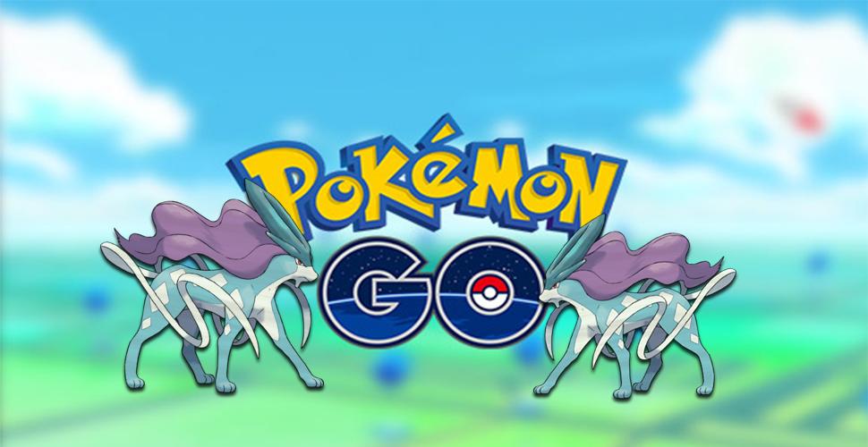 Pokémon GO Suicune Titel
