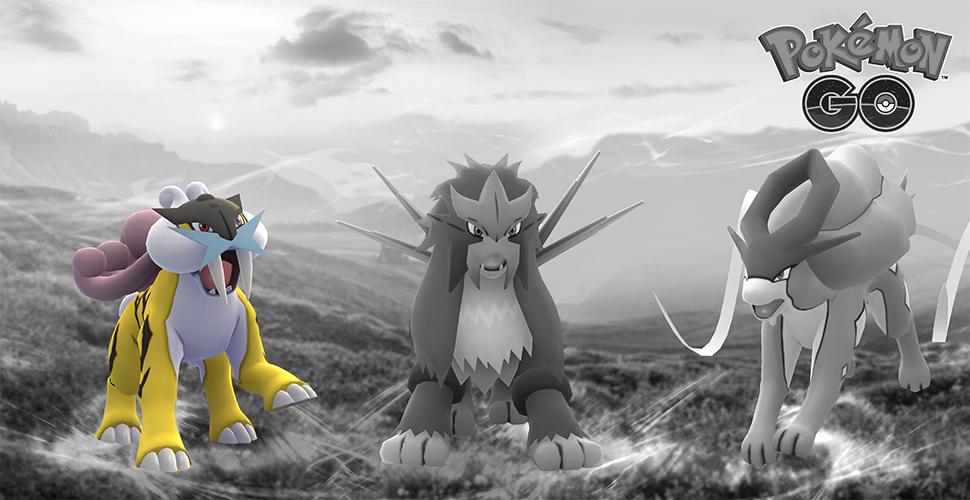 Pokémon GO Trio Entei