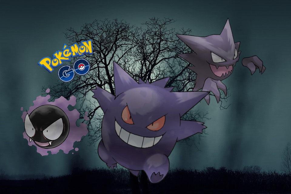Pokemon Halloween Geister