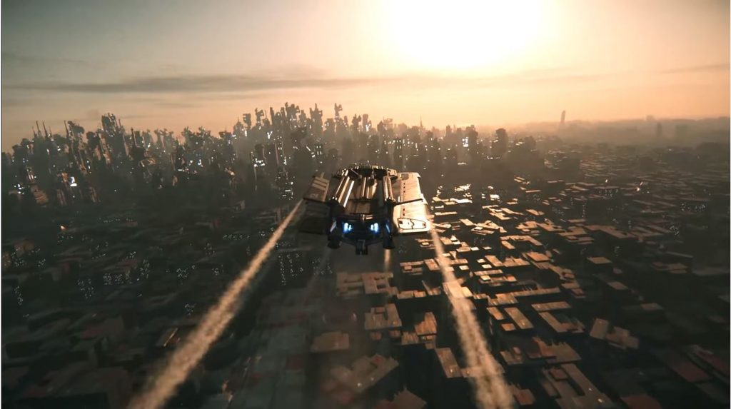 Star Citizen Stadt