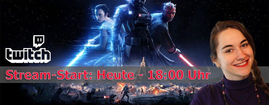 Star Wars Battlefront 2 im Live-Stream – Wir testen die Open-Beta
