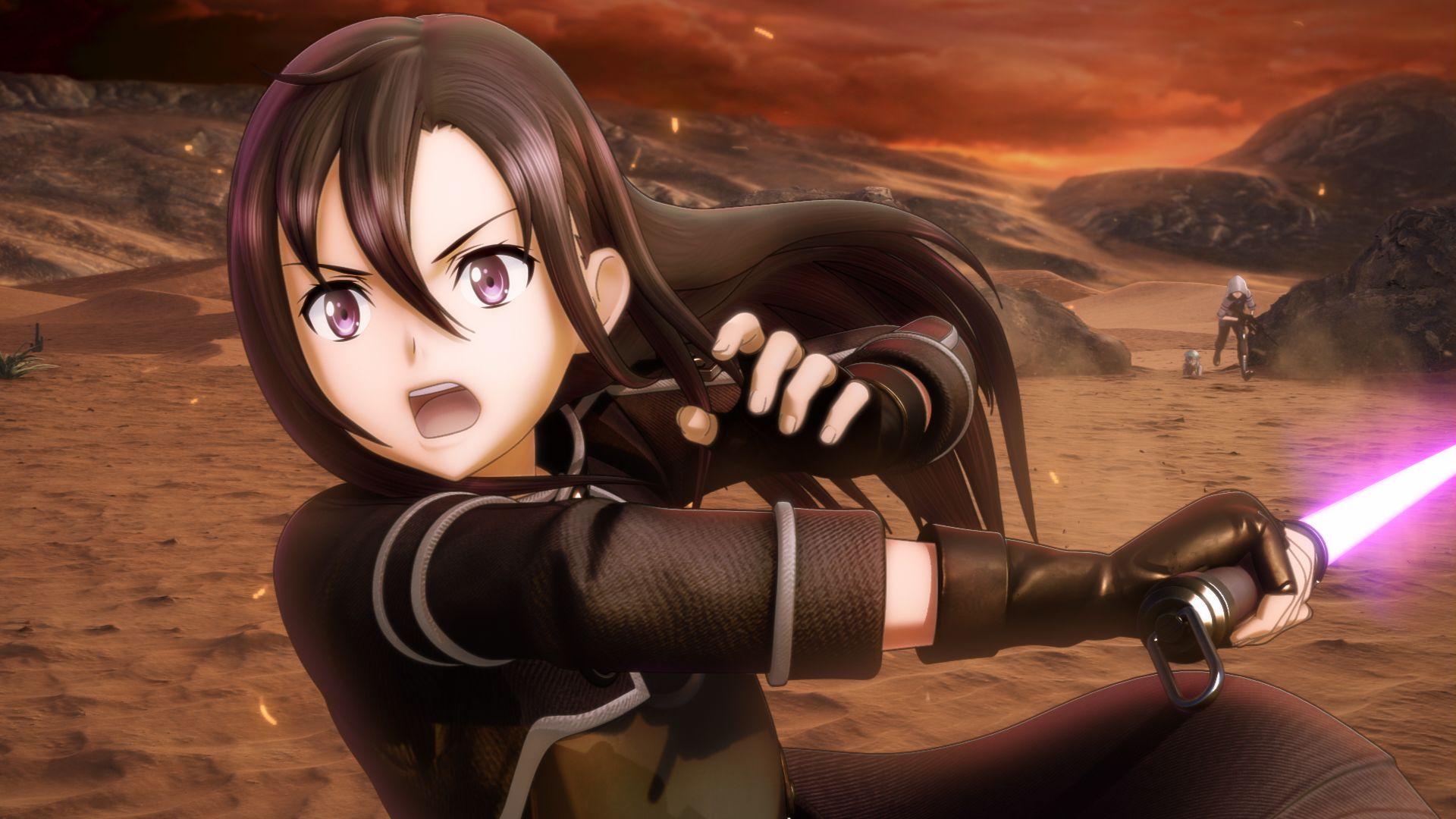 Sword Art Online Fatal Bullet Kirito