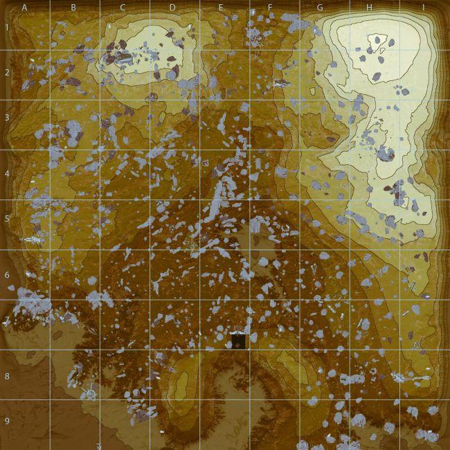 Warframe Eidolon Map