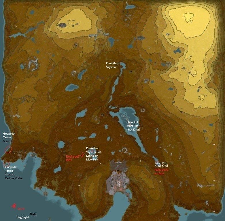 Warframe-Fishing-Map