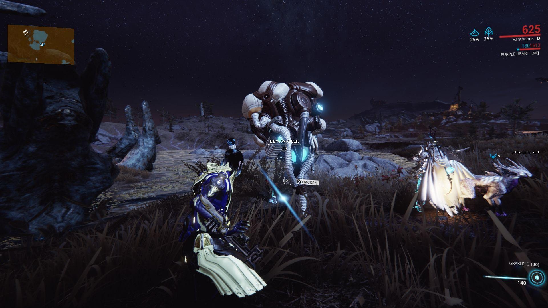 Warframe eidolon hunt 12