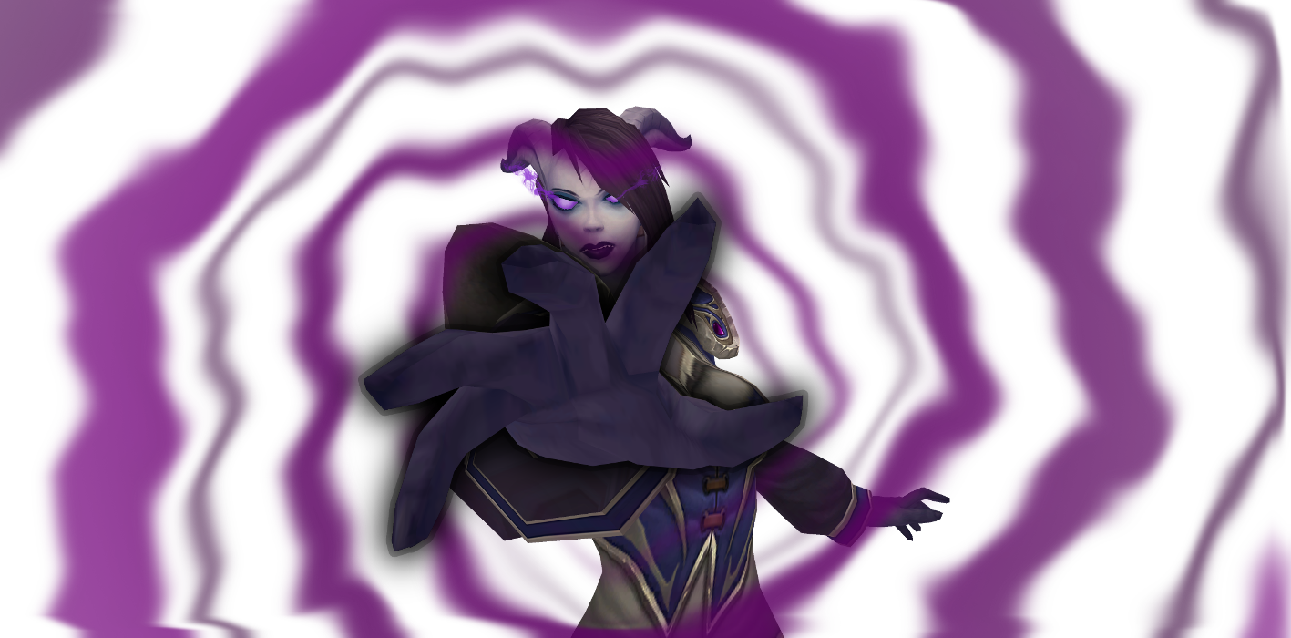 WoW Draenei Drawing Power