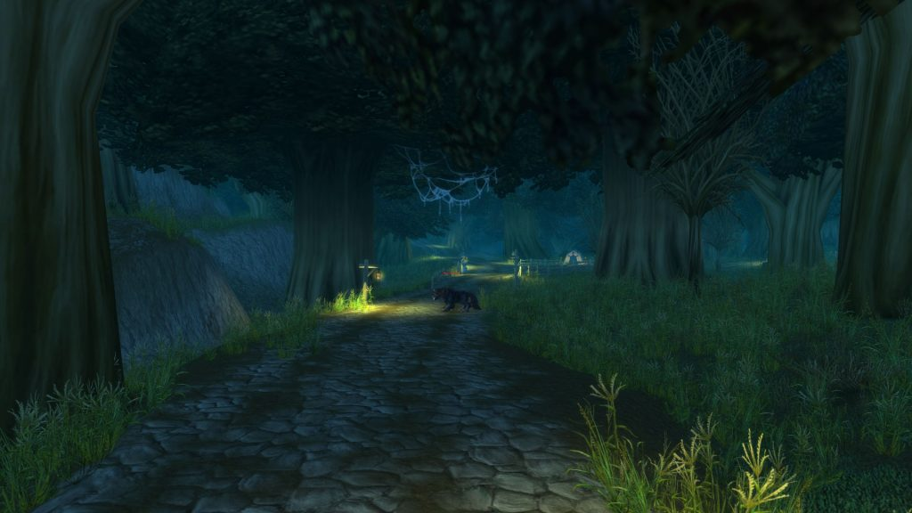 WoW Duskwood Long Way