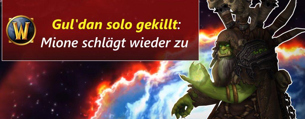 WoW: Dämonenjäger OP? – Raidboss Gul'dan solo getötet!