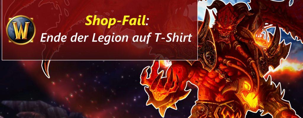 WoW: Wenn ein T-Shirt das Ende der Legion spoilert …