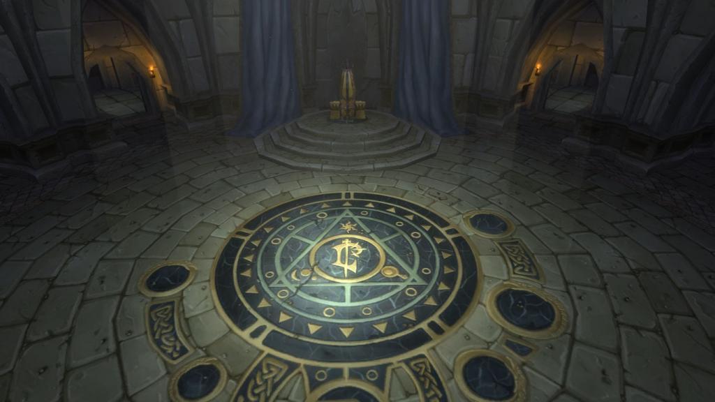 WoW Lordaeron Throne Room