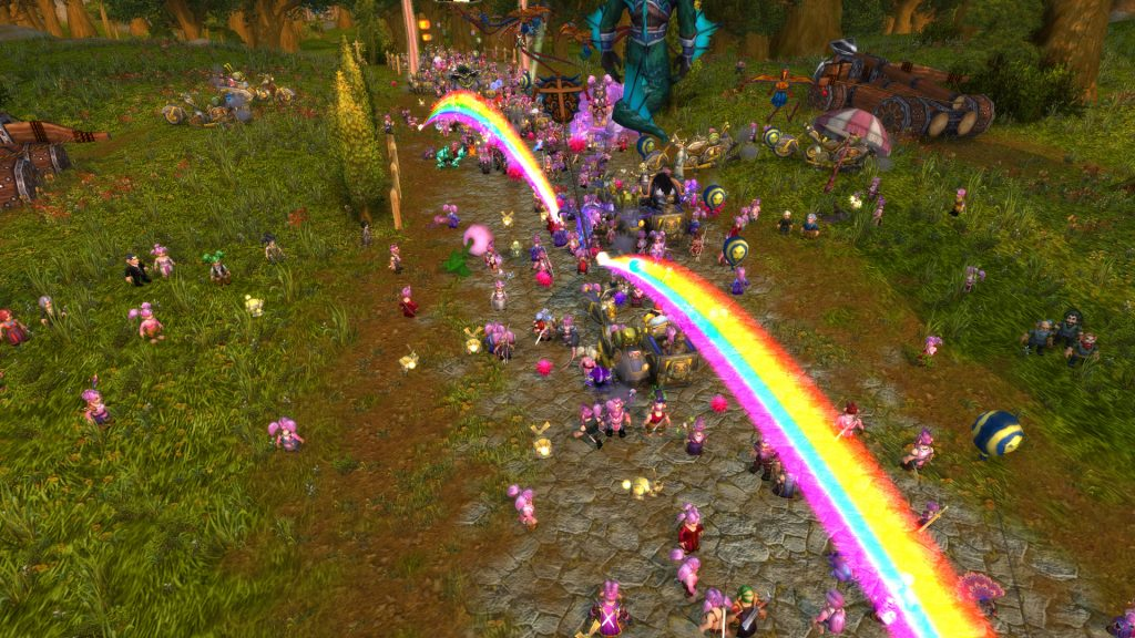 WoW Running of the Gnomes 2017 1