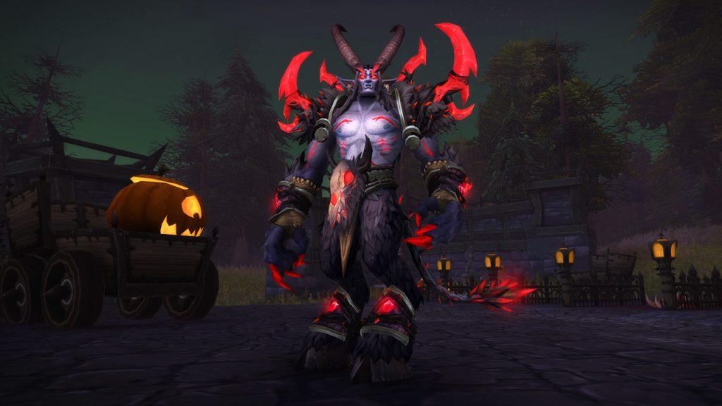 World of WArcraft Hallow's End Exquisite Costume Xavius