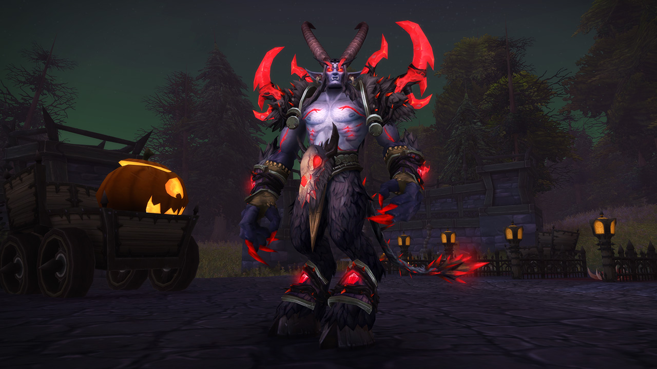 World of WArcraft Hallow's End Exquisite Costume Xavius