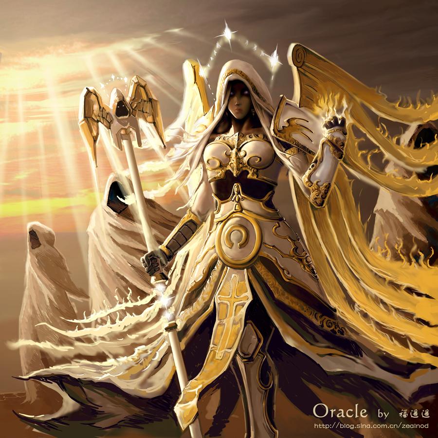 World of Warcraft Holy Priest Fan Art by Fuyaoyao