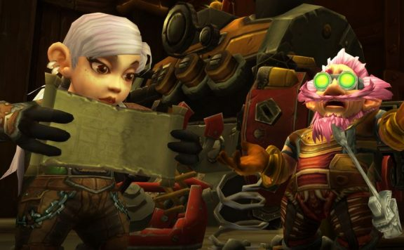 World of Warcraft wow Patch Gnome