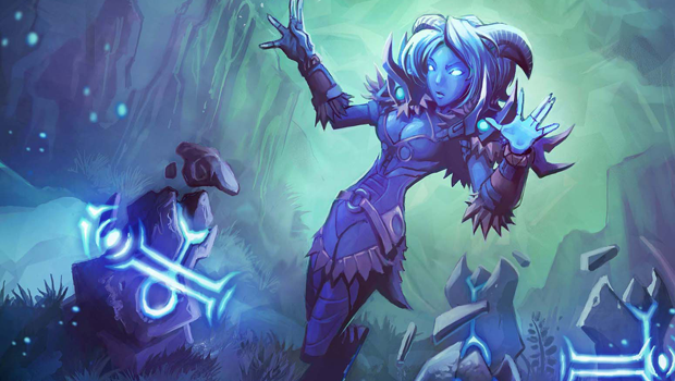 World of Warcraft wow restoration shaman tcg
