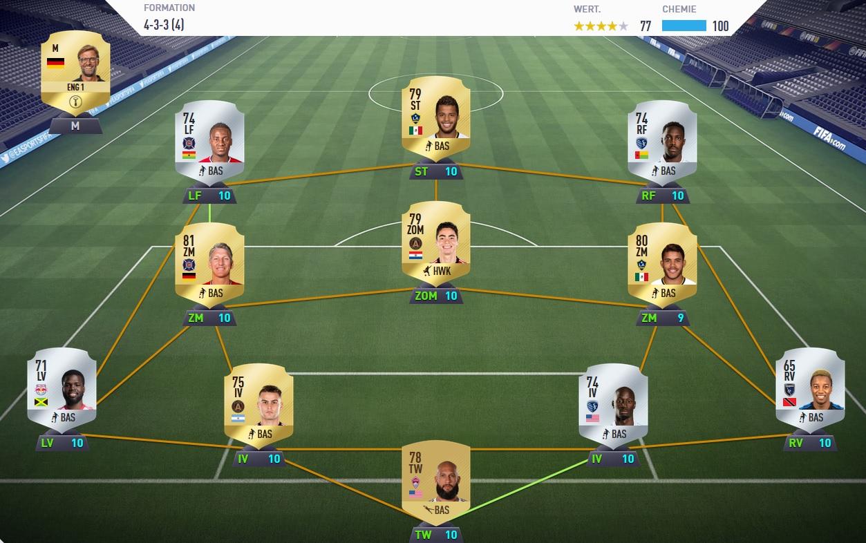 Fifa 18 Billige Spieler Im Ultimate Team Günstig An Top Teams Kommen