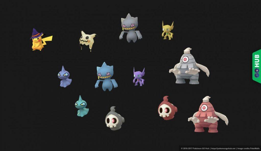 Pokémon GO Shiny Gen 3