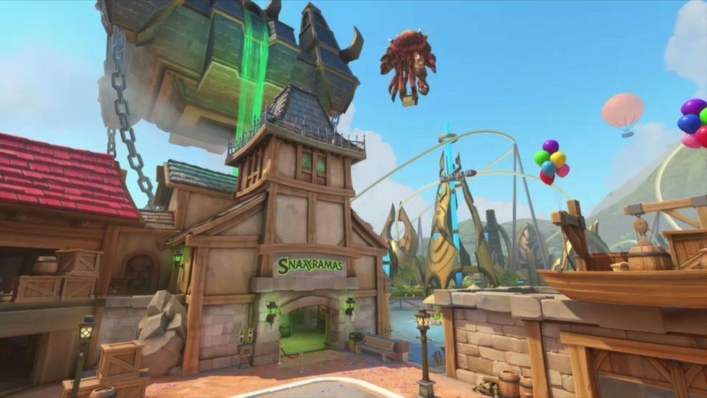 Blizzcon Overwatch Blizzardworld Snaxxramas