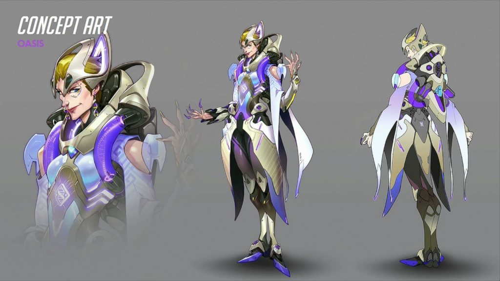 Blizzcon Overwatch Moira Oasis Skin