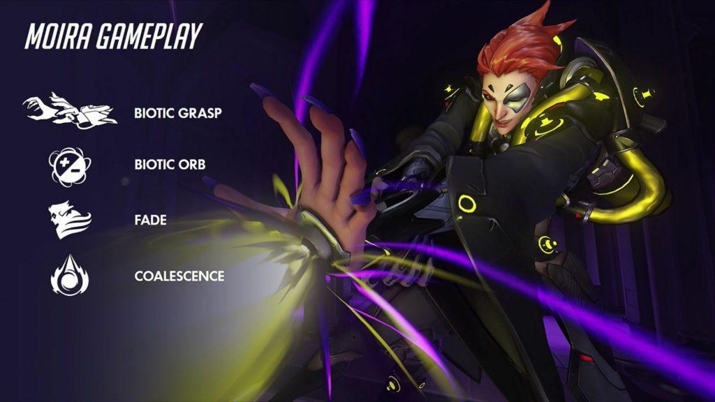 Blizzcon Overwatch Moira Skills