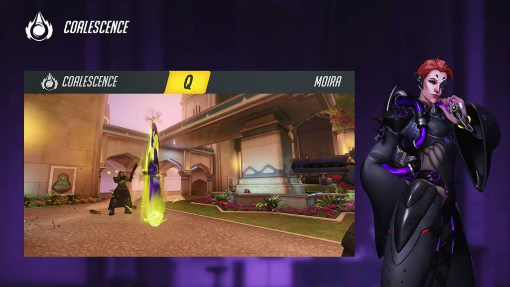 Blizzcon Overwatch Moira Ultimate Coalescence Q