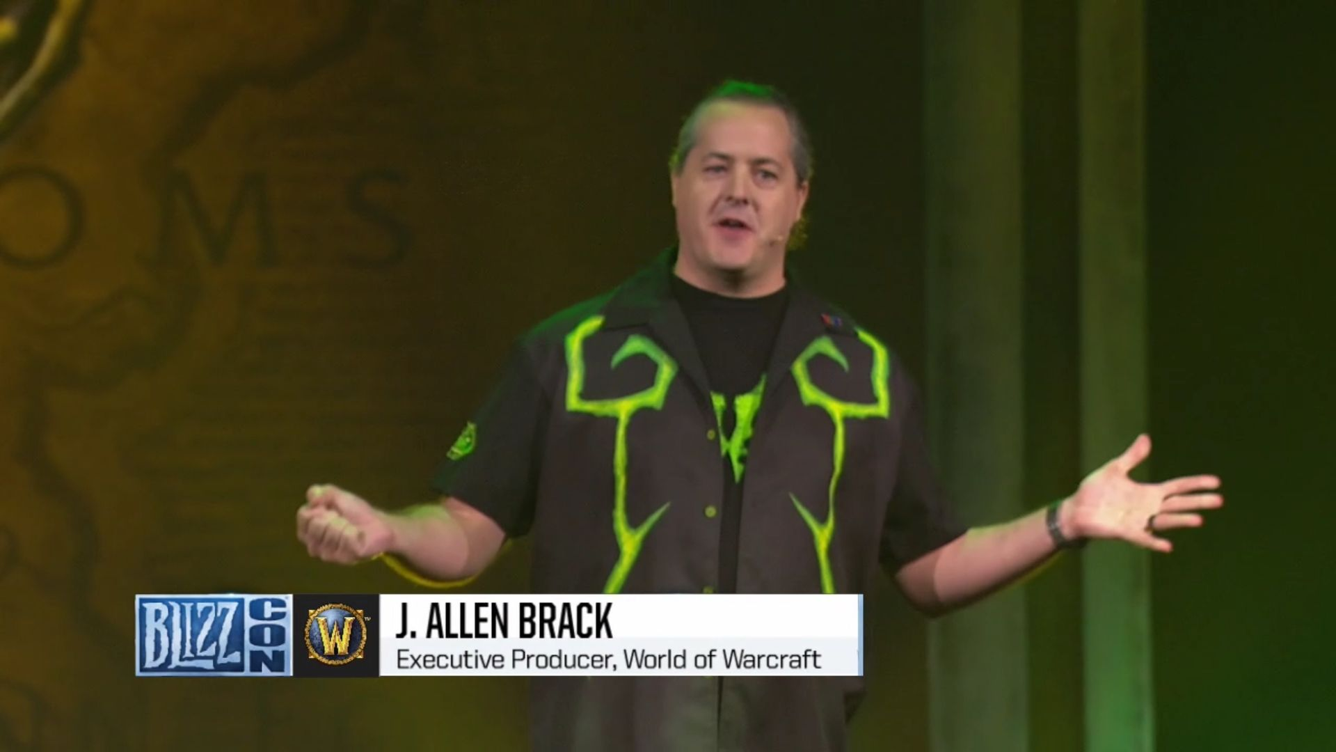 Blizzcon World of Warcraft Classic Servers Brack