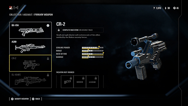 CR 2 Star Wars Battlefront 2 Waffe
