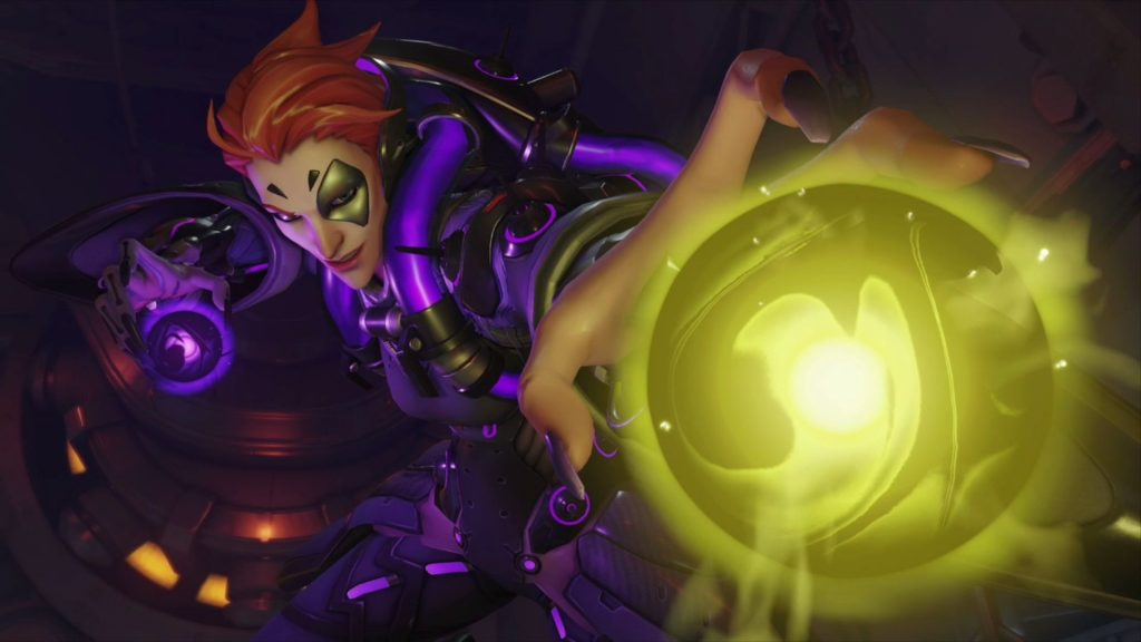 Blizzcon Overwatch Moira Light and Shadow