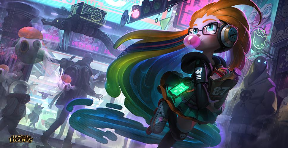 LoL Cyberpop Zoe