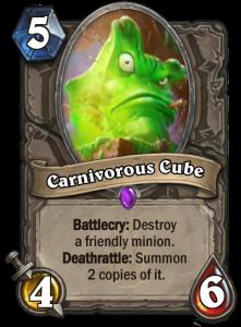 Hearthstone KaC Carnivorous Cube