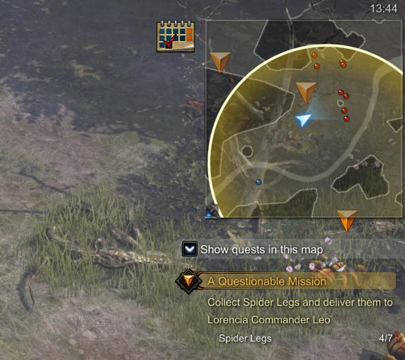 MU Legend Quest Rot Icon