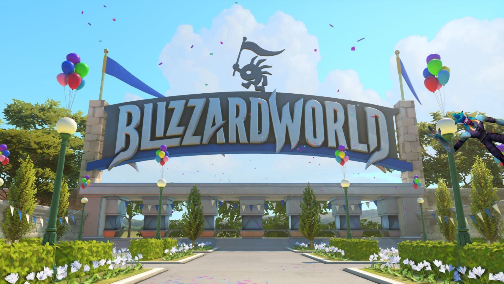 Overwatch BlizzardWorld Easter Eggs Warcraft Troll Title 3